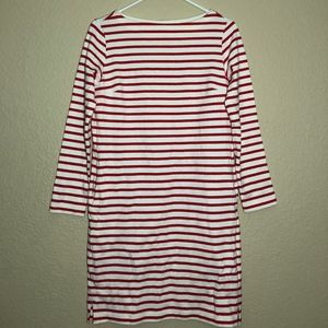 Red and White Uniqlo Dress